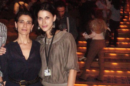 Amreeka star Hiam Abbas & director Cherien Dabis